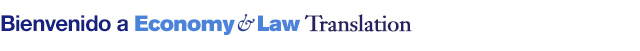 Welcome from Economy & Law Translation